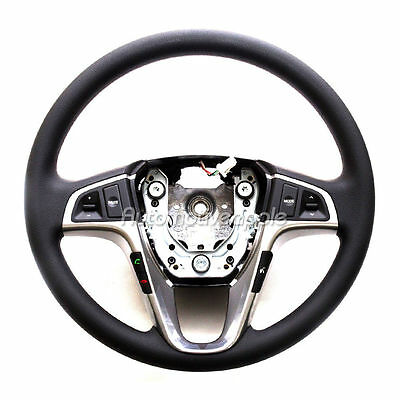 370mm Real Carbon Steering Wheel Black Cover for HYUNDAI 2011-2016 Elantra MD