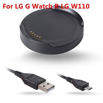 Usado, LG G Watch R LG W110 Smart watch Charger Dock Cradle & USB data cable segunda mano  Embacar hacia Spain