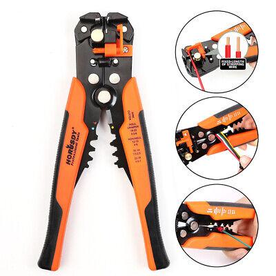 Self-adjusting Insulation Wire Stripper Cutter Crimper Terminal Tool Pliers 8