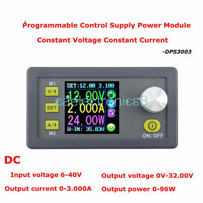Digital Programmable Step-down Power Supply Module 32v3a Adjustable Output Ca