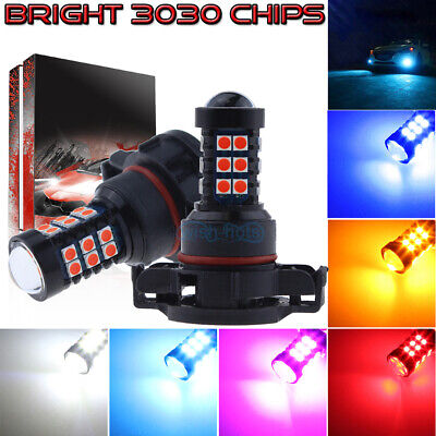 NEW 2Pcs 3030 30SMD LED Bulbs Conversion Kit Fog Lights High Power Super