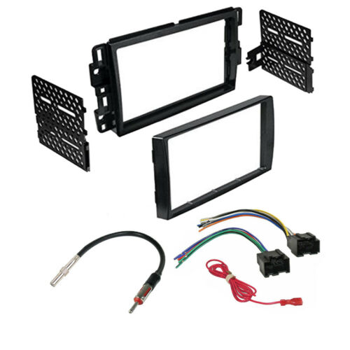 Car Radio Stereo 2Din Dash Kit Harness for 2007 - 2013 GMC SIERRA, YUKON 1500