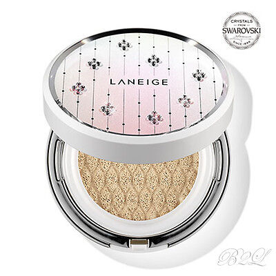 [LANEIGE] Swarovski BB Cushion Whitening SPF50+ PA+++ 15gx2 [Limited Edition]