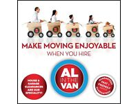 Man in van PAISLEY.. Al in the van removals services