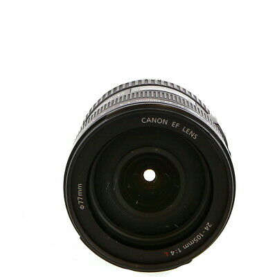 Canon 24-105mm F/4 L IS USM Macro EF Mount Lens {77} Made in Japan - UG