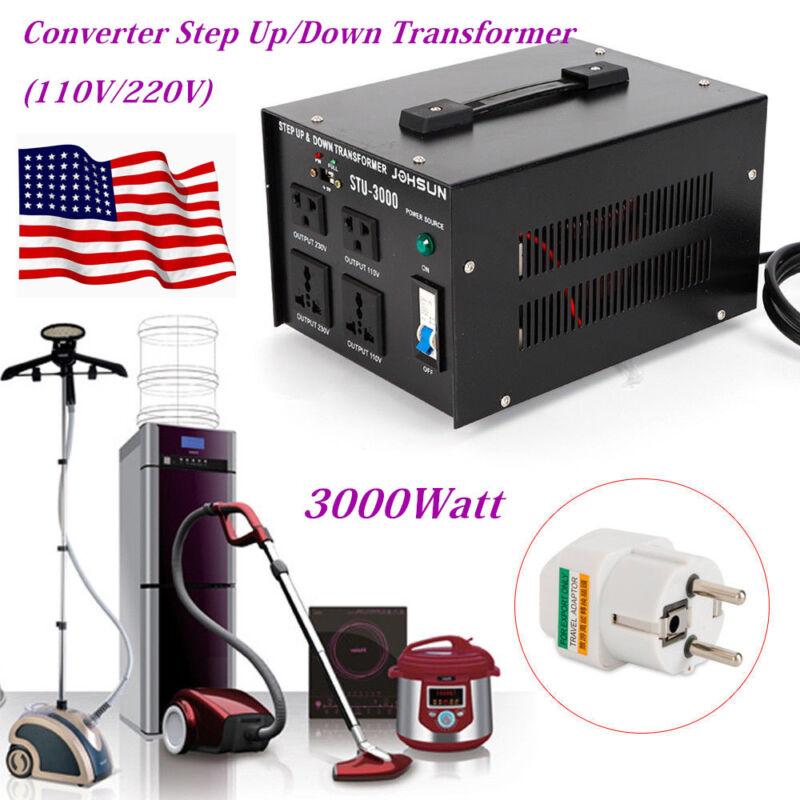 3000W Household Voltage Converter Transformer 110V-220V,220V-110V,Step Up/Down