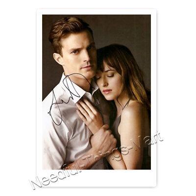 Jamie Dornan & Dakota Johnson in Shades of Grey - Autogrammfotokarte [AK1]