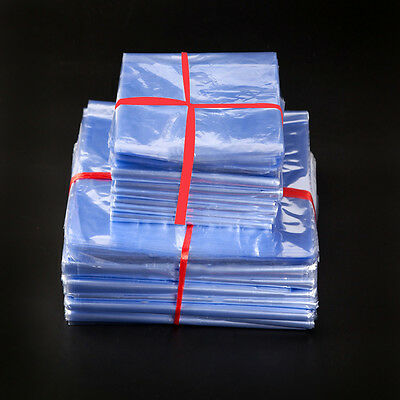 Heat Shrink Wrap Film Flat Bags For Candles Cosmetics Pvc Shrink Gift Poly Bag
