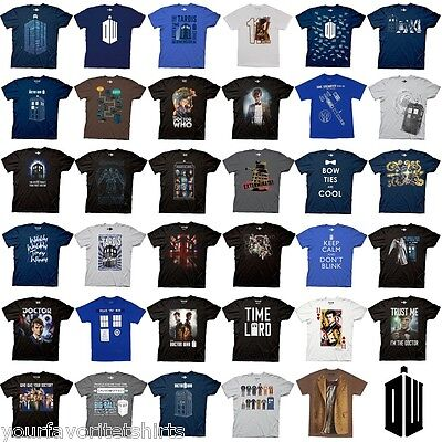 Doctor Who Tardis Bow Tie Dalek Choose Officially Licensed Bbc Adult Shirt S 3Xl