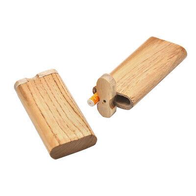Wood Dugout One Hitter Best Slid Top Wooden Dugout Swivel Cap Box Stash