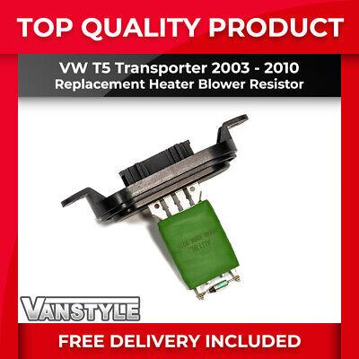 VW T5 TRANSPORTER 2003-2010 HEATER BLOWER FAN SPEED RESISTOR REPLACEMENT