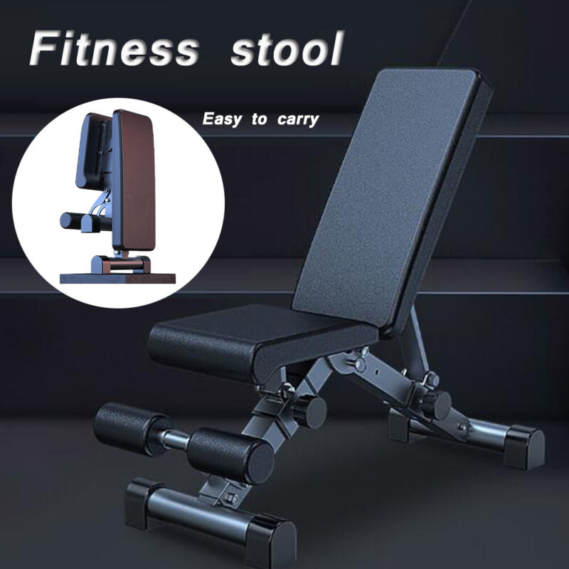 Adjustable Weight Bench Press Incline Decline Workout Fitness Exercise Gym