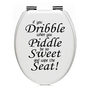 Toilet Seat Stickers