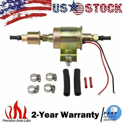 Universal External Fuel Pump w/ Filter 12v 5-9 PSI Low Pressure Inline Fuel Pump