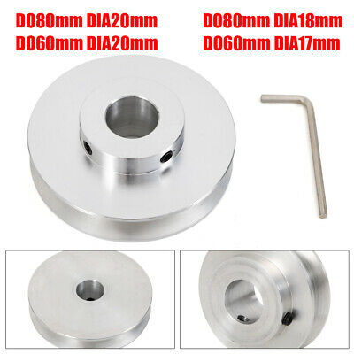 Od 40-80mm Hole Dia 8-25mm V-groove Step Pulley With Wrench Low Noise