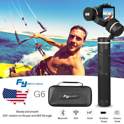 Feiyu G6 3-Axis Wifi Gimbal Stabilizer for GoPro Hero 7 6 5 4 Vigour Camera