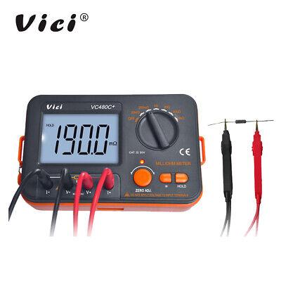 Vc480c+ Precision Milliohm Meter Digital Micro-ohm Resistance Widerstandsmesser Milliohm-meter