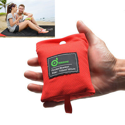 Pocket Sized,Water resistant,Picnic Beach Blanket Camping Outdoors 44x63 inches