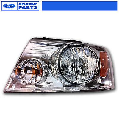 OEM NEW 2004-2008 Ford F-150 Chrome Headlight LEFT 7L3Z13008GACP