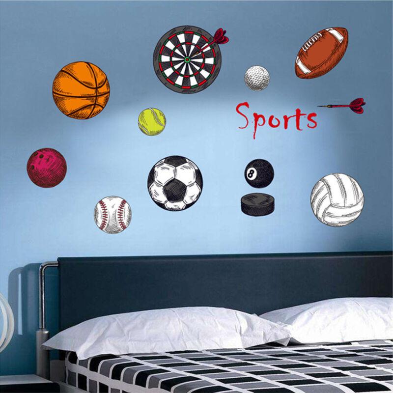Sport Wall Stickers Art Decals