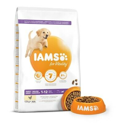 IAMS for Vitality Puppy Large Dog Food with Fresh Chicken 2kg