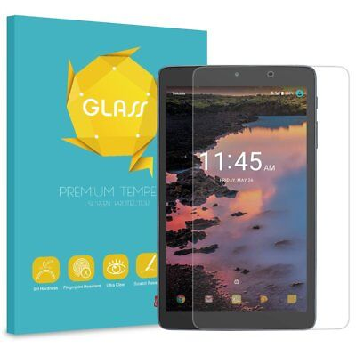 For T-Mobile Alcatel 3T 8-inch Tablet 2018 Tempered Glass Screen Protector