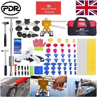 78x PDR Tools Paintless Dent Removal Repair Slide Hammer Puller Dent Lifter UK