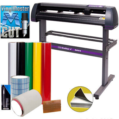 34 Uscutter Mh 871 Vinyl Cutter Value Kit W Vinylmaster Design Cut Software