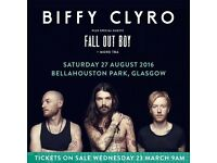 Biffy Clyro Sat 27th
