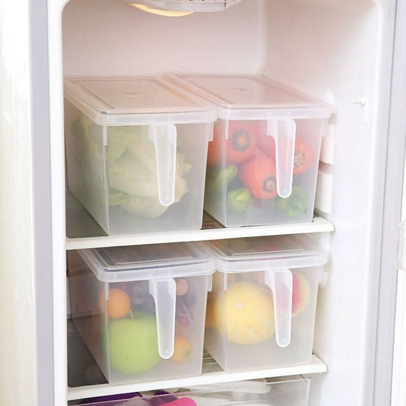 refrigerator storage box food container kitchen fridge