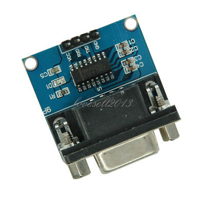 Max3232 Rs232 To Ttl Serial Port Converter Module Db9 Connector Max232
