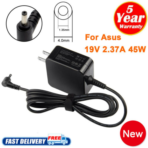 45W 19V 2.37A For Asus Laptop Notebook Charger Adapter ADP-4