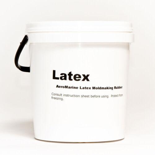NATURAL LIQUID MOLD MAKING LATEX RUBBER 1/2 GALLON SIZE
