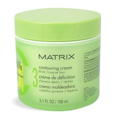 Matrix Curl Life Defining System Contouring Cream Coarse Hair 5.1oz ( (Defining System)