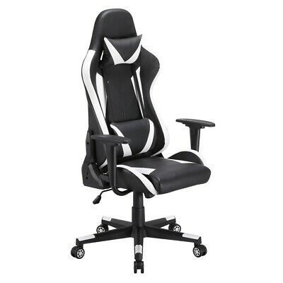 Office Gaming Chair High Back Ergonomic Racing Computer Chair Swivel Pu Leather