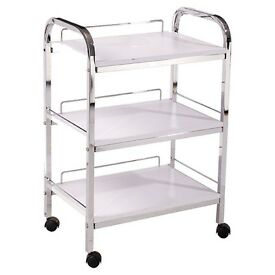 Excellent Salon Services Spa Beauty Trolley (White)