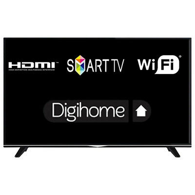 """Digihome 43298 43"""" Smart LED TV Ultra HD 4K With Freeview Play HDMI Scart"""