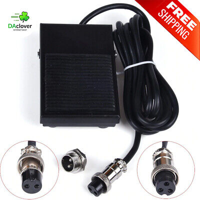 Proven 2-3 Pin Foot Pedal Switch Long Cable Connector For Tig Welding Controller