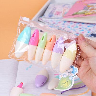 Cute Mini Office Stationery Sets Gift Highlighter Pen Supplies Pen School