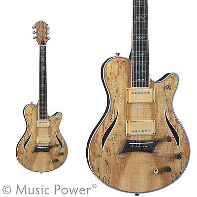 Michael Kelly Hybrid Special Electric Guitar Gorgeious Spalted Maple Top on Rummage