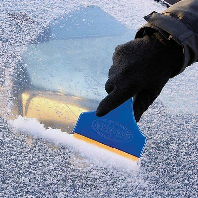 Ice Snow Scraper Car Frost Clean Removal Window Brush Windshield Brass Blade SUV