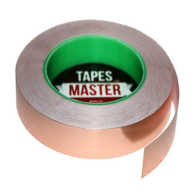 Copper Foil Tape - 34 X 36 Yds. - Emi Conductive Adhesive Ship From Usa