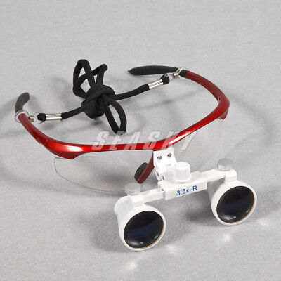 Usa 20x Dental 3.5x Binocular Surgical Medical Loupes Glasses Magnifier Zoom
