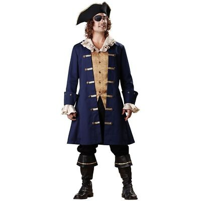 Pirate Outfit Adults (Mens Costume InCharacter Pirate Cap'n Cutthroat Outfit Adult Halloween M)
