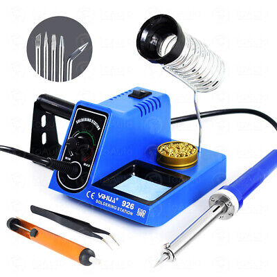 60w Rework Soldering Station Iron Kit Variable Temperature Welding Tools 110vus