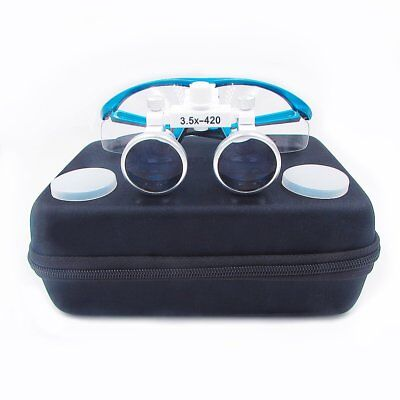 3.5x420mm Binocular Eyeglasses Dental Surgical Medical Binocular Loupe Magnifier