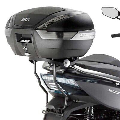 Kit Anclajes Givi SR6104 para BAUL sistema monokey KYMCO XCITING 400i 2014-