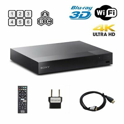 Sony BDP-S6500 Upgraded Multi-Region Zone Free Blu-Ray DVD P