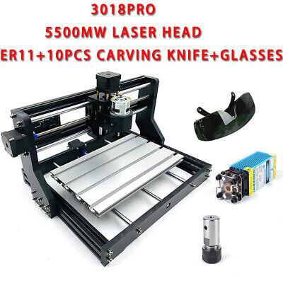 Diy Cnc 3018 Pro Router Kit Pcb Milling Engraving Machine5500mw Laserer11 Top