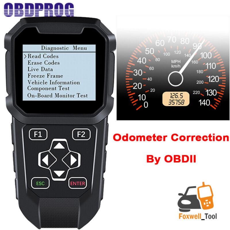 MT401 Auto OBD Mileage Correction odometer Adjustment reset Diganostic Scanner